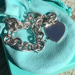 Tiffany & Co. Tiffany Hearts Heart Tag Charm Brave